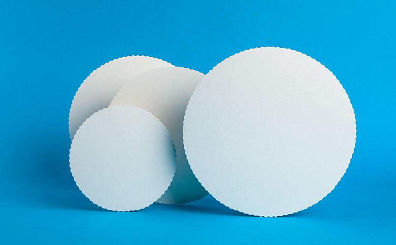 opakowania dla cukierni - podkłady cukiernicze okrągłe
