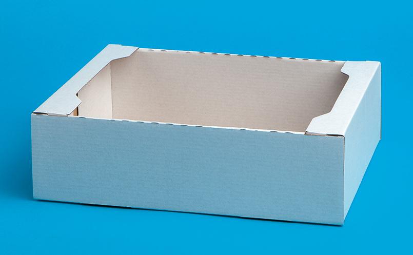 opakowania dla cukierni - pudełka z tektury falistej