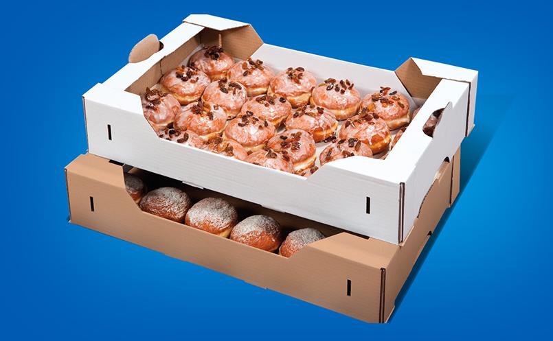 opakowania dla cukierni - pudełka do pączków