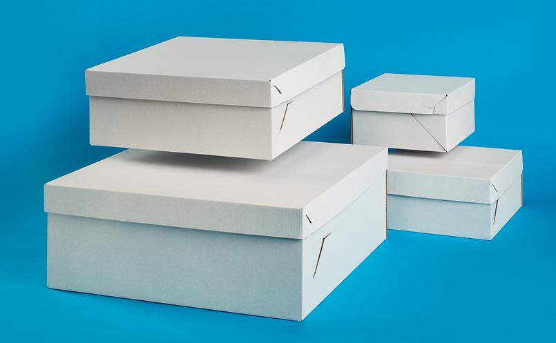 opakowania dla cukierni - pudełka do tortu z klapką